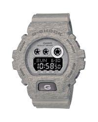 G-Shock - Gray Xl Print Resin Digital Watch for Men - Lyst