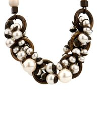 Weekend by Maxmara - White Sovrana Necklace - Lyst