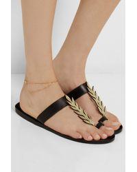 Maria Black - Metallic Darling Goldplated Anklet - Lyst