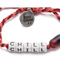 Venessa Arizaga | Orange Womens Chill Pill Bracelet | Lyst