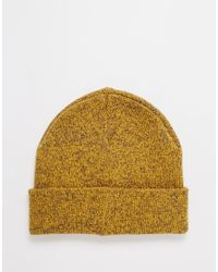 Jack & Jones | Yellow Knit Beanie for Men | Lyst