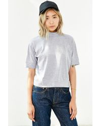 Silence + Noise - Gray Strikeout Tee - Lyst