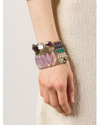Ziio | Multicolor Beaded Bracelet | Lyst