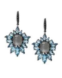 Stephen Dweck - Cyprus Blue Quartz Fan Drop Earrings - Lyst