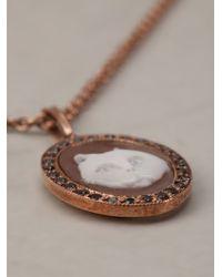Amedeo - Metallic Cat Pendant Necklace - Lyst
