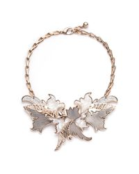 Lulu Frost | Metallic Nightshade Layered Necklace | Lyst