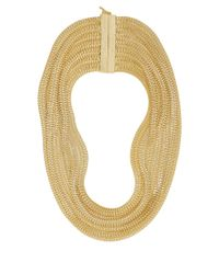 Rosantica - Metallic Goldplated Bianca Necklace - Lyst