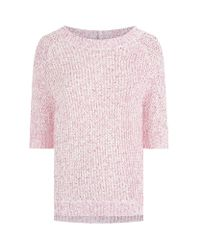 Juicy Couture Pink Tape Yarn Sweater