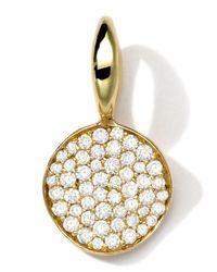Ippolita - Metallic 18k Gold Small Charm With Diamonds - Lyst