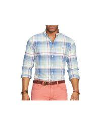 Ralph Lauren - Blue Polo Oxford Classic Fit Button Down Shirt for Men - Lyst