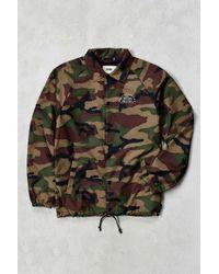 24ead40b15 Lyst - Vans Torrey Camo Coaches Jacket in Green for Men