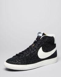 Nike Black Blazer Mid Premium Vintage Vine Pattern for men