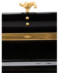 Valentino Black Box Clutch