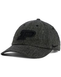 8be3057ff36 Lyst - Nike Purdue Boilermakers H86 Fitted Cap in Gray for Men