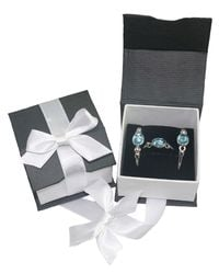 Di Modolo - Metallic Rhodium Plated Sterling Silver Lolita Gift Set With Blue Topaz - Lyst