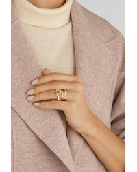 Ippolita Metallic Stardust Reef 18-Karat Gold Diamond Ring
