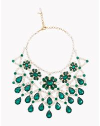 DSquared² | Green Queen Elizabeth Necklace | Lyst