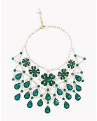 DSquared² - Green Queen Elizabeth Necklace - Lyst