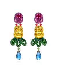 Dori Csengeri | Multicolor Folies Long Earrings | Lyst