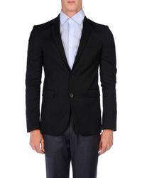 Karl Lagerfeld - Black Blazer for Men - Lyst