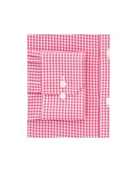 Thomas Pink Pink Hampson Check Regular Fit Dress Shirt
