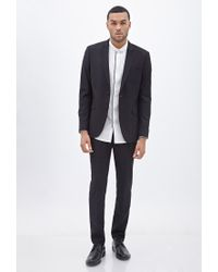 Forever 21 - Black Classic Two-button Blazer for Men - Lyst