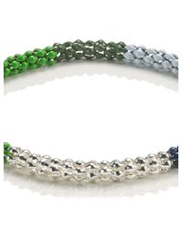 Lucy Folk   Multicolor Green Multi Poison Ivy Bracelet   Lyst