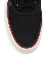 Polo Ralph Lauren | Black Moray Nubuck Lace-up Sneakers for Men | Lyst