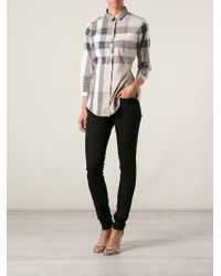 Burberry Brit - Black Skinny Jeans - Lyst