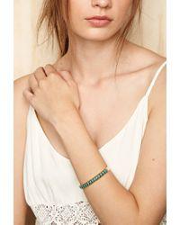 Forever 21 | Blue Emerald Duv Yucatan Wrist Cuff | Lyst