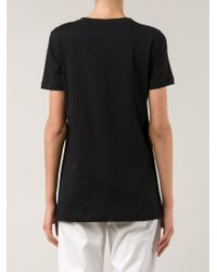 Sofie D'Hoore - Black 'Taboo' T-Shirt - Lyst