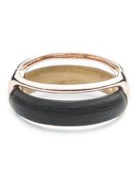 Alexis Bittar - Black Liquid Stacked Hinge Bracelet - Lyst