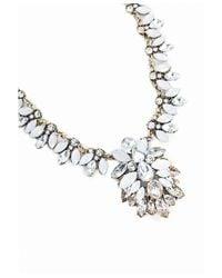 Missguided | Metallic Doreen Opulent Drop Statement Necklace Gold | Lyst
