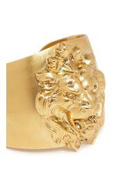 Ela Stone - Metallic 'lion' Metal Appliqué Cuff - Lyst