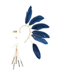 H&M | Blue 4-Pack Ear Decorations | Lyst