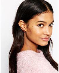 Bill Skinner Metallic Strawberry Stud Earrings