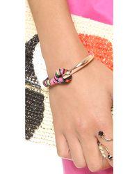 Shashi - Pink Peyton Cuff Bracelet - Lyst