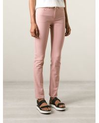 JOSEPH - Pink 'Nino' Slim Jeans - Lyst