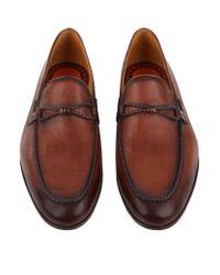 Saks Fifth Avenue   Blue Luca Punch Toe Oxford Shoe for Men   Lyst