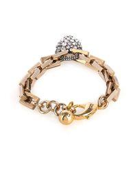 Lulu Frost | Metallic Blackheart Bracelet | Lyst