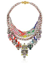 Shourouk | Multicolor River Chalk Necklace | Lyst