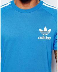 Adidas Originals Adicolor T-shirt In Blue B10654 for men