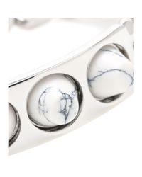 Balenciaga Metallic 3 Studs Classique Bracelet