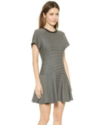 Rag & Bone Watson Flare Dress - Black