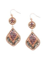 Nakamol | Multicolor Candle Light Earrings-purple Mix | Lyst