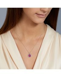 Astley Clarke Pink Mini Connie Pendant