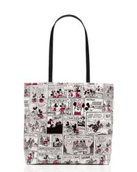 kate spade new york White Minnie Mouse Comic Tote