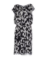 Caractere - Black Knee-length Dress - Lyst