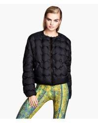 H&M | Blue Reversible Down Jacket | Lyst