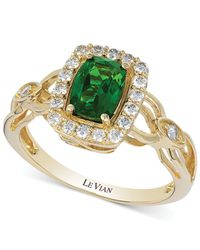 Le Vian - Metallic Chrome Diopside (3/4 Ct. T.w.) And Diamond (1/3 Ct. T.w.) Ring - Lyst